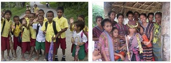 East Timor Children