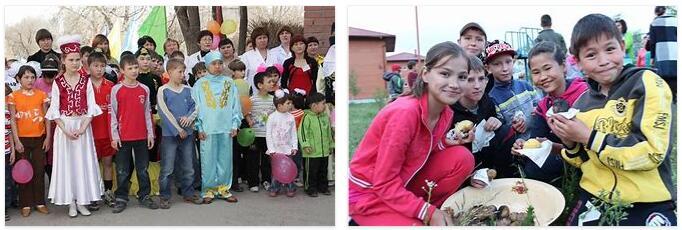 Kazakhstan Children