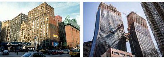 Manhattan Main Buildings